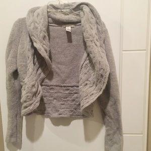 Sarah Spencer | Lamb's Wool Cable Knit Cardigan
